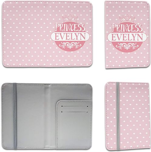 Personalised Princess Funny Novelty Passport Holder